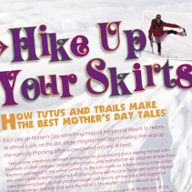 Feature: Hike Up Your Skirts